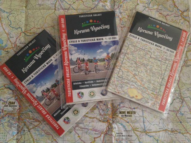 Nova Turisticka Mapa Koruny Vysocina Informacni Centrum