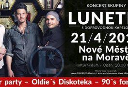 Koncert Lunetic – stále máme volné vstupenky