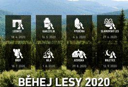 Termíny Běhej lesy 2020 jsou venku. Registrujte se!
