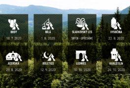 Běhej lesy mění termínovku