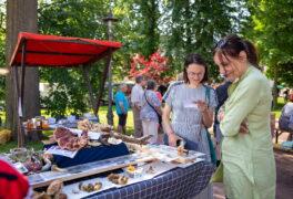 Farmářský trh 17.7.2021 ve fotografiích Miloše Neumana